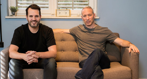 Lemonade co-founders Daniel Schreiber and Shai Wininger. Photo: Ben Kelmar