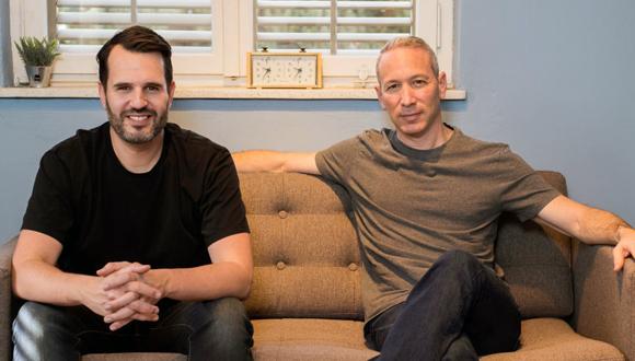 Lemonade co-founders Daniel Schreiber and Shai Wininger. Photo: Ben Kelmer