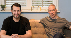 Lemonade co-founders Daniel Schreiber and Shai Wininger. Photo: Ben Kelmer