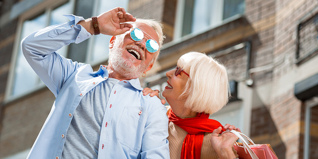 Older hipsters sightsee the city. Photo: Shutterstock