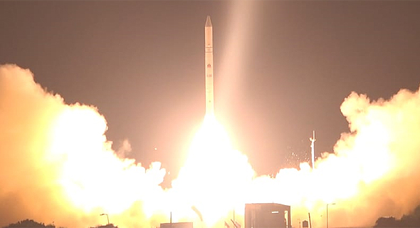 Ofek 16 satelite is launched into space. Photo: Ministry of Defense