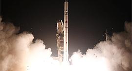 שיגור לוויין הריגול אופק 16 בבחודש יולי השנה, צילום: אגף דוברות והסברה, משרד הביטחון