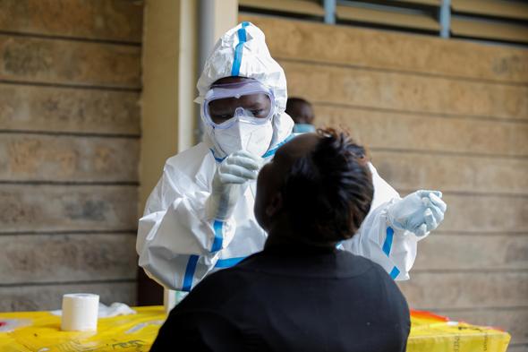 בדיקת קורונה בקניה