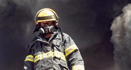 שריפה במפעל שמן במפרץ חיפה, צילום: גיל נחושתן