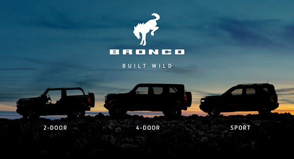 ברונקו. רכב שטח חדש של פורד