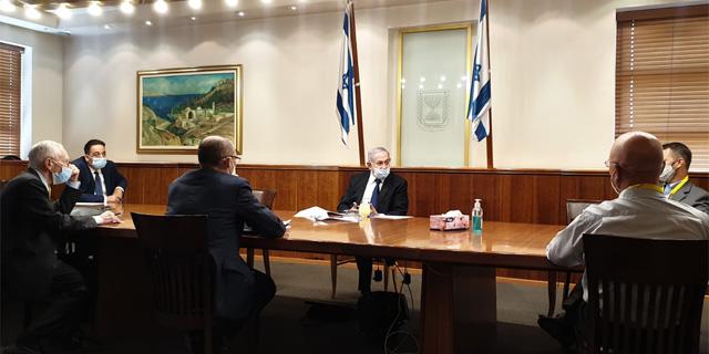 הדיון הכלכלי אצל ראש הממשלה, צילום: בנק ישראל