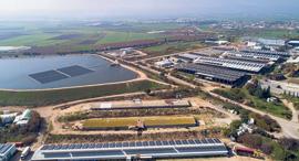 לוחות סולאריים של נופר אנרגיה בקיבוץ יזרעאל, צילום: אתר החברה