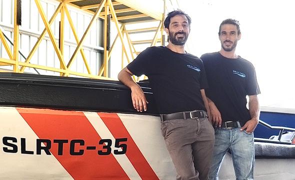 Sealartec co-founders Amitai Peleg (left) and Alon Cohen. Photo: Sealartec