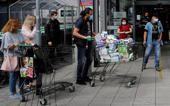 קניות בגרמניה