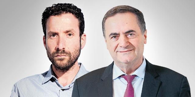 ישראל כץ ואיציק שמולי, צילום: אלכס קולומויסקי, עמית שעל