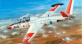 הקברניט פוגה התעשייה האווירית מטוס אימון, צילום: Spcialhobby  goodfon