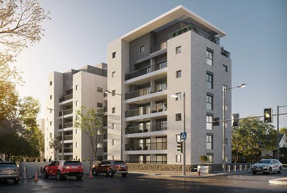 הפרויקט בנגבה 7. לבקשת בעלי הדירות, נטלה קבוצת ידר את המושכות