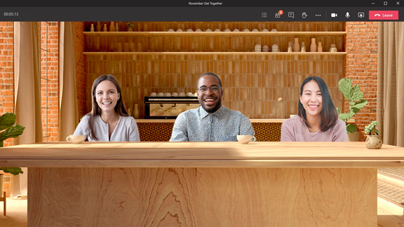 עדכון בינה מלאכותית למיקרוסופט Teams שיחות וידאו