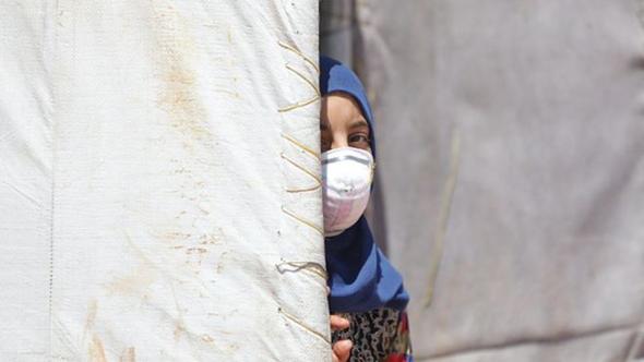 מחנה פליטים בסוריה