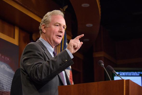 Maryland Senator Chris Van Hollen. Photo: Spokesperson
