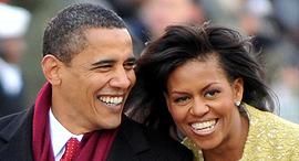 ברק אובמה בטקס ההשבעה שלו לנשיאות ב־2009 לבוש חליפה ומעיל של ברוקס ברדרס. חברה שכונתה, צילום: גטי אימג'ס