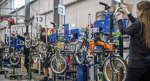 מפעל האופניים ברומפטון בלונדון