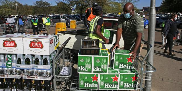 דרום אפריקה אוסרת מכירת אלכוהול - כדי להוריד את הלחץ על מערכת הבריאות
