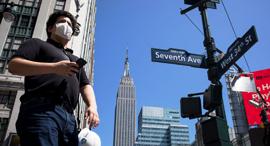 ניו יורק קורונה מנהטן אמפייר סטייט בילדינג, צילום: שאטרסטוק