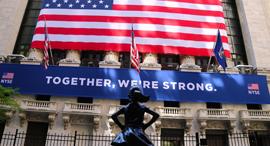 וול סטריט בורסה ניו יורק NYSE מנהטן קורונה 2, צילום: רויטרס