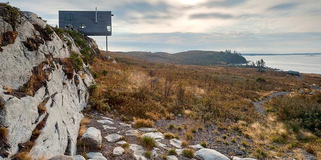 מפלרטטים עם הטבע: בתים במקומות יוצאי דופן