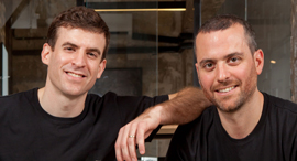 Seebo co-founders Lior and Liran Akavia. Photo: Seebo