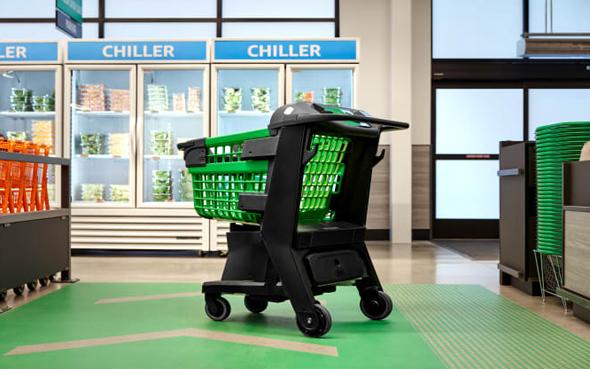עגלת קניות של אמזון, צילום: Amazon