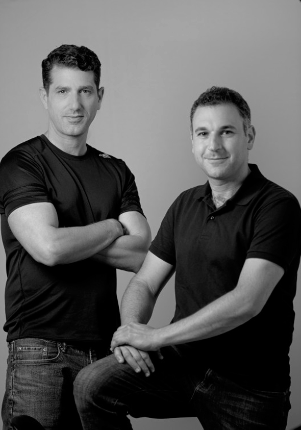REE co-founders Ahishay Sardes (left) and Daniel Barel. Photo: Yuval Chen