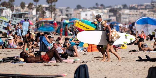 """קליפורניה: מניין חולי הקורונה עלה ל-409 אלף; הכי גבוה בארה""""ב"""