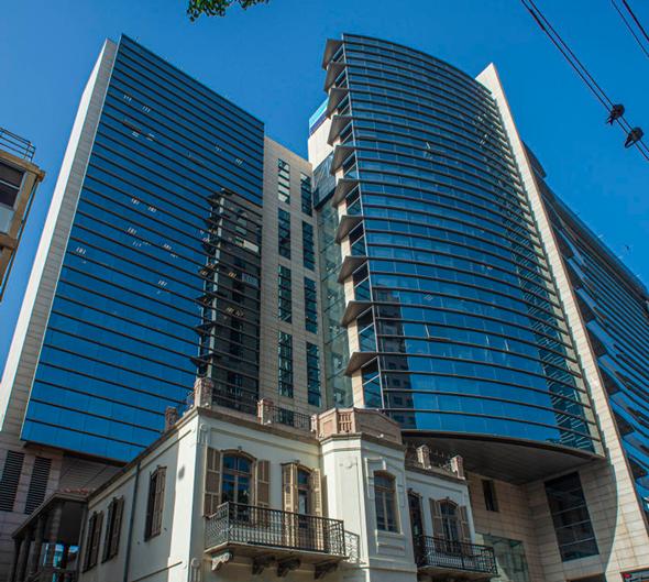 מטה בנק לאומי בתל־אביב