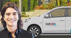 """אדם נוימן קאר טו גו car2go, צילום:  car2go, יח""""צ"""