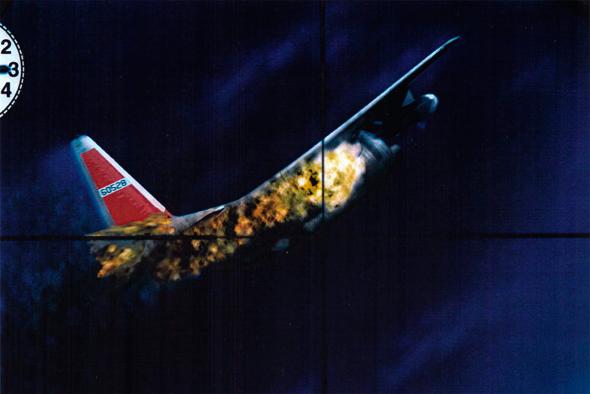 הרקולס ביון תחת אש, מתוך כוונת מיג 17