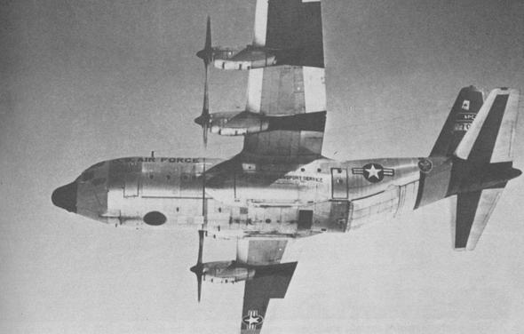 הרקולס RC130 באוויר