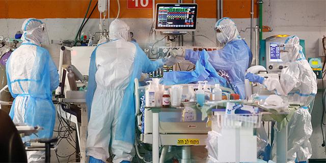 טיפול בחולי קורונה, צילום: איי אף פי