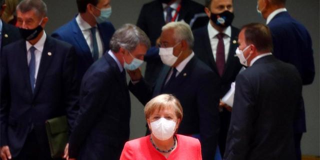 פסגת מנהיגי האיחוד האירופי השבוע בבריסל, צילום: אי פי איי