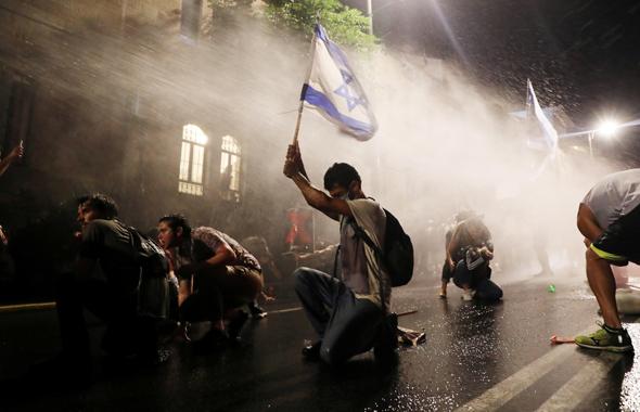 Protests in Jerusalem. Photo: Reuters