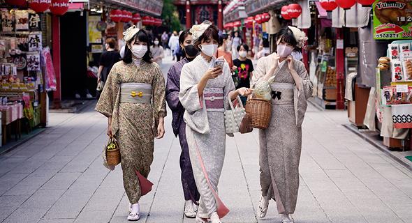 טוקיו. אזור הקניות של רובע אסקוסה