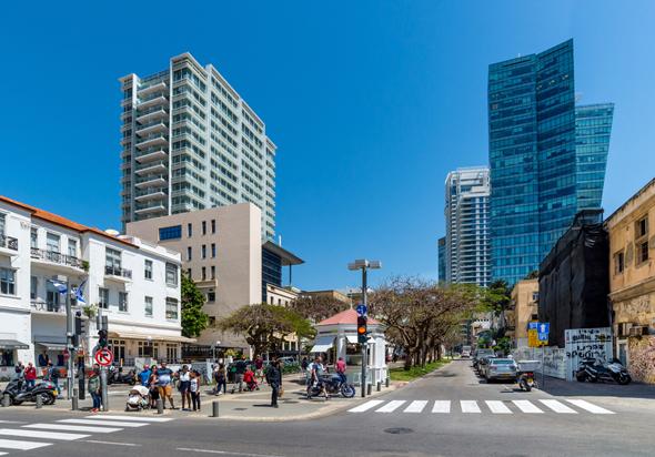 Tel Aviv's Rothschild Boulevard. Photo: Shutterstock