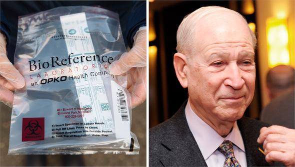 בעל השליטה באופקו פיליפ פרוסט, בדיקת קורונה של ביורפרנס