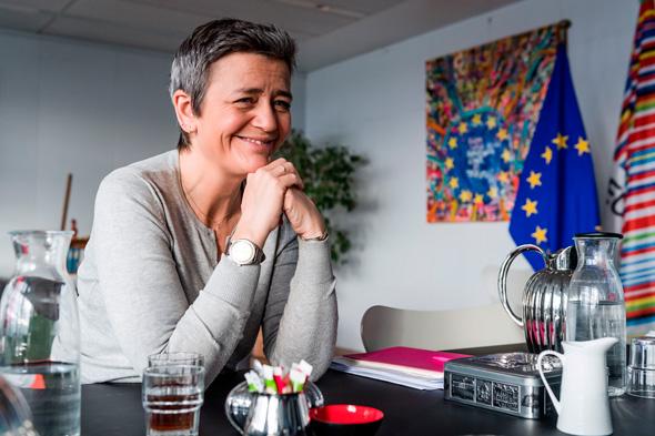 נציבת האיחוד האירופי מרגרט ואסטגר