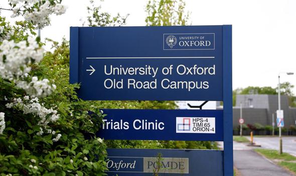המעבדה באוניברסיטת אוקספורד