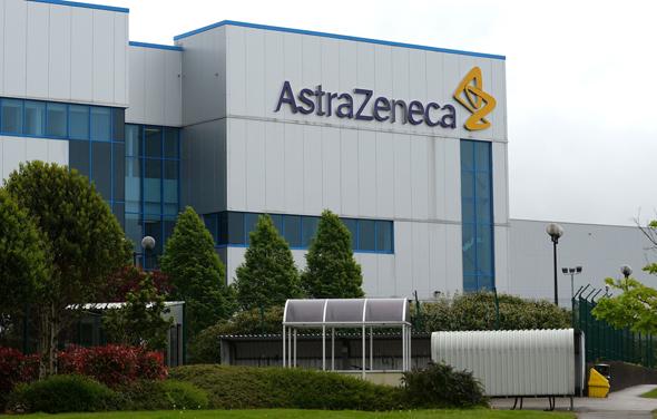 מפעל של חברת הפארמה הבריטית אסטרהזניקה