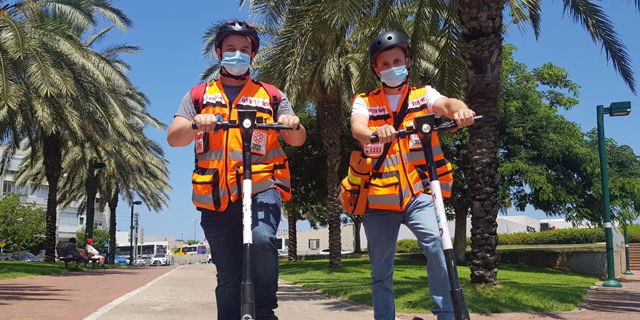 Bird offers free scooter sharing to help Tel Aviv medics reach the scene in seconds