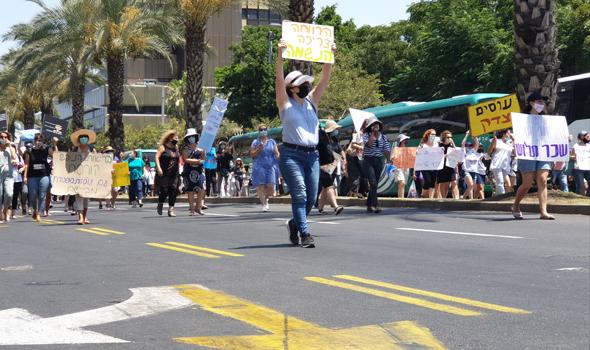 """המחאה היום בת""""א"""