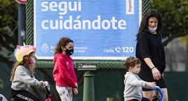 בואנוס איירס ארגנטינה קורונה 21.7.20, צילום: גטי אימג'ס