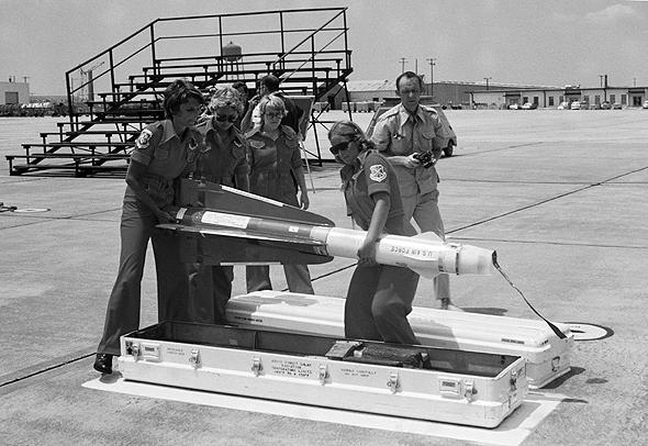 טיל הפלקון של חברת יוז, צילום: USAF