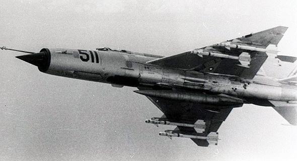 מיג 21 קובני עם טילי K13, צילום:  (LAAHS (Luis Domínguez