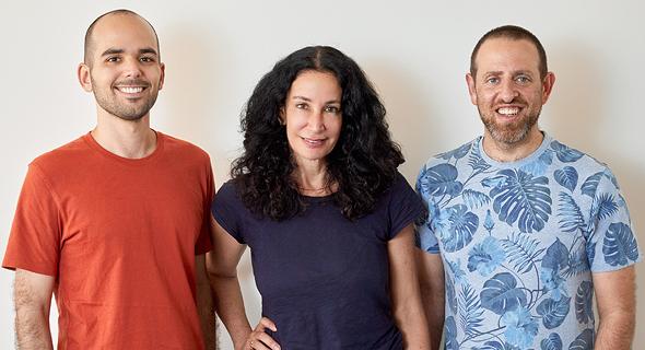 StuffThatWorks co-founders Ron Held (left), Yale Alish and Yossi Synett. Photo: Tarlan Ben-Avi