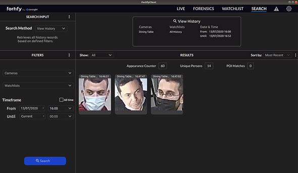 המערכת לזיהוי חולי קורונה של Corsight AI , צילום: Corsight