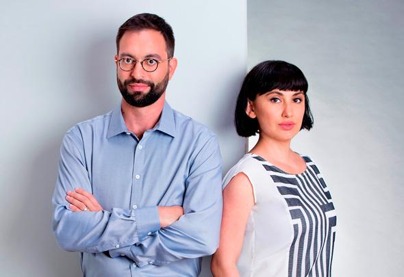 קרינה אודינייב ויגאל רייחלגאוז מייסדי Corsight AI